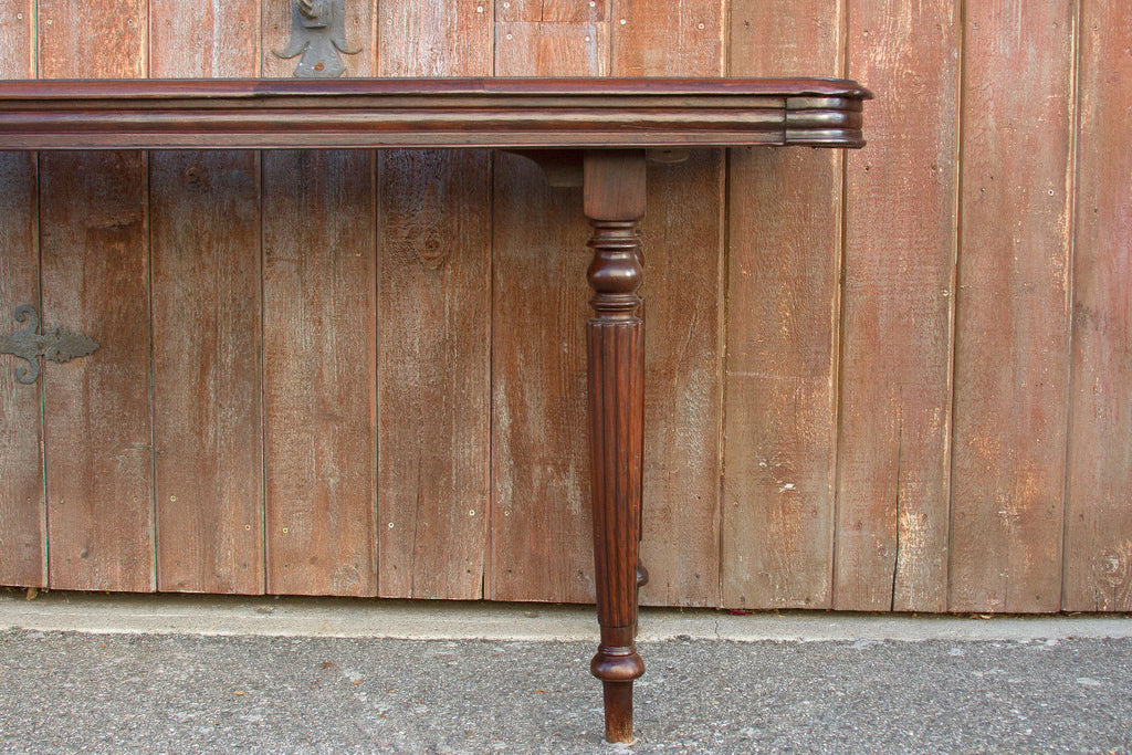 Pair of Rosewood Anglo Console Tables