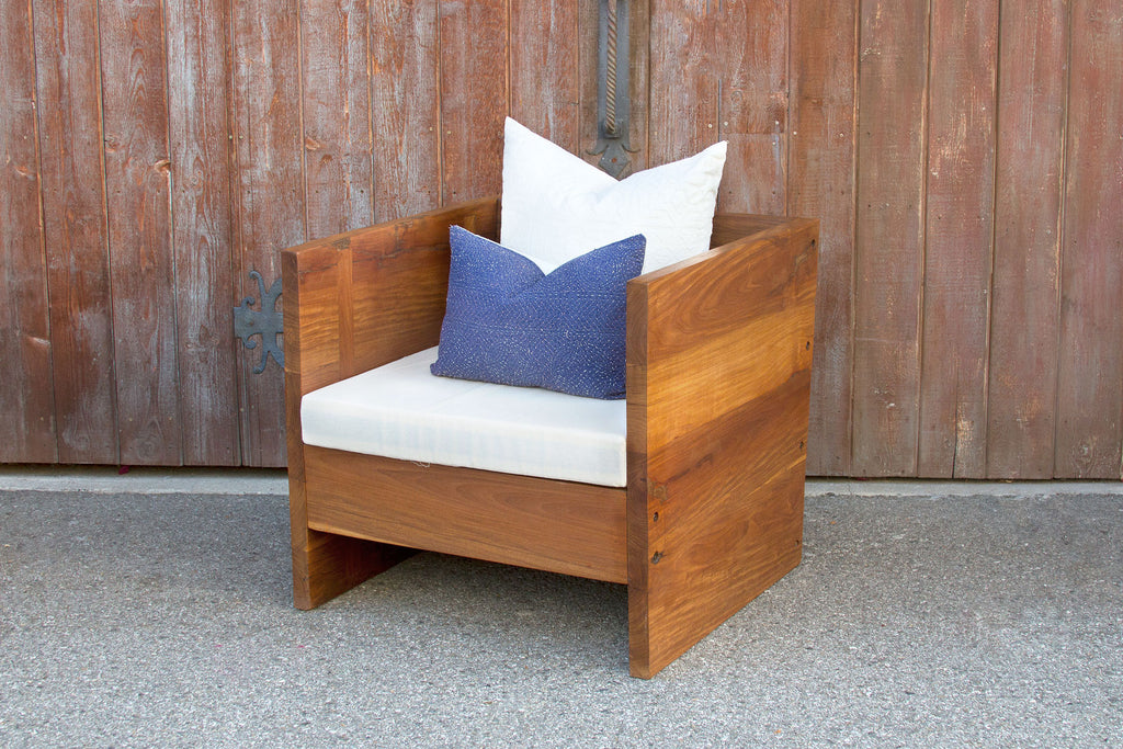 Reclaimed Teak Club Chair
