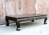 Antique Black Opium Table