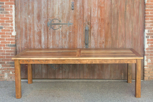 Reclaimed Teak Parson Table