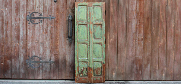 Charming Portuguese Painted Doors