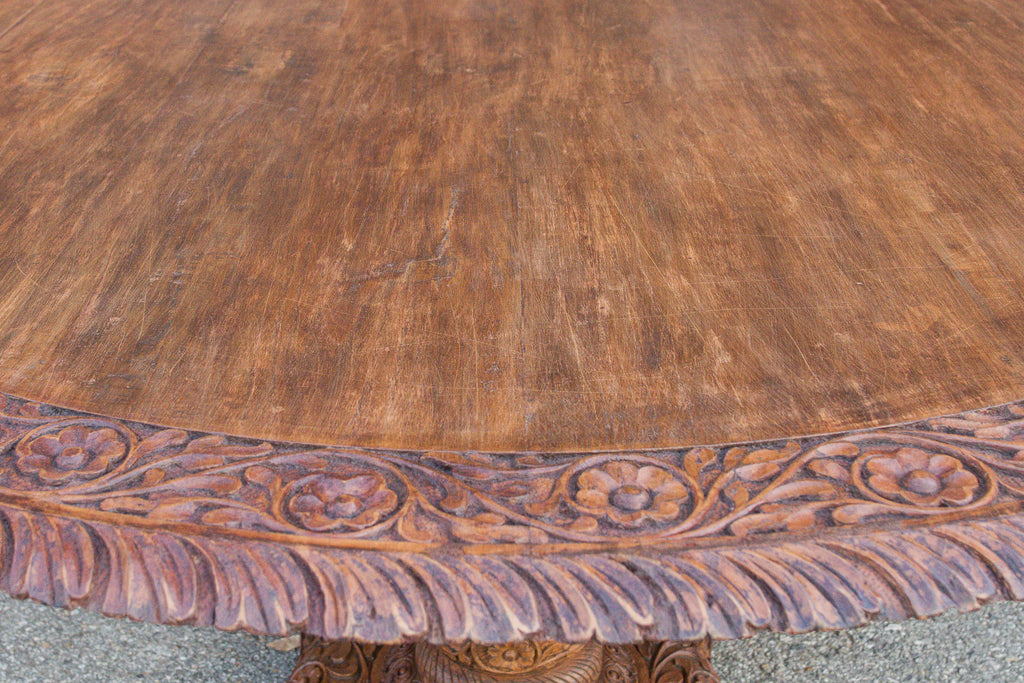 19th Century Anglo Indian Dining Table