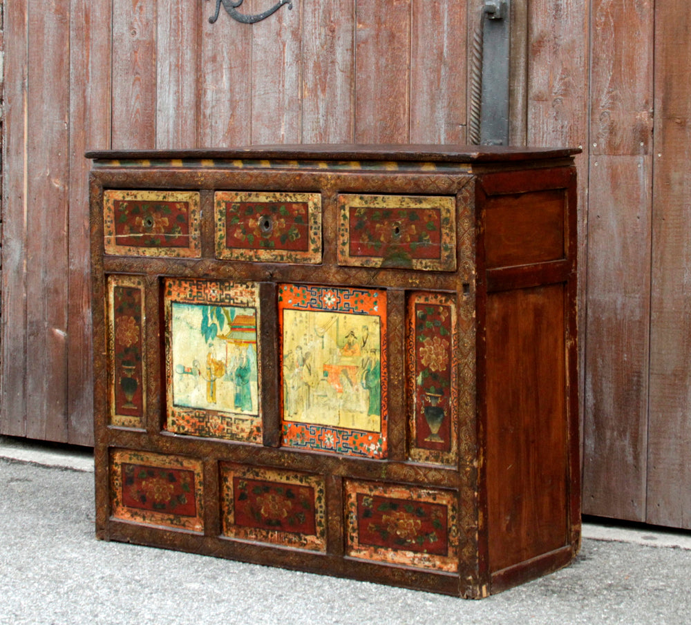 19th Century Tibetan Buffet