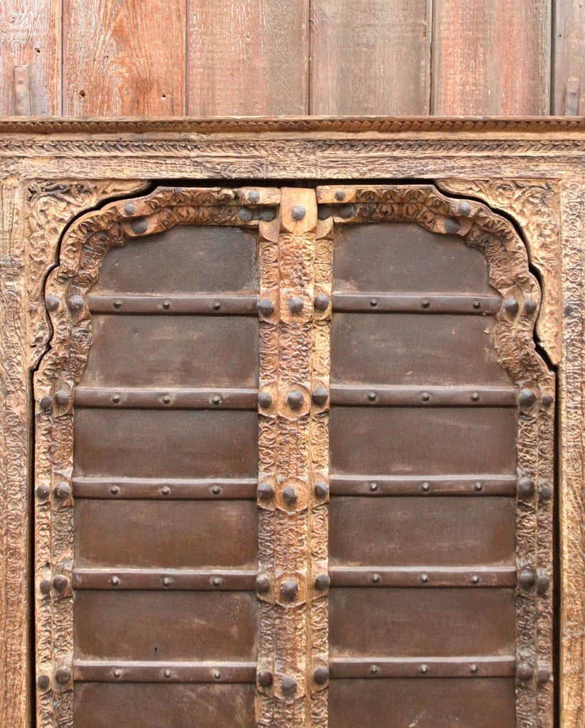 Stately Iron Strap Mandawa Door