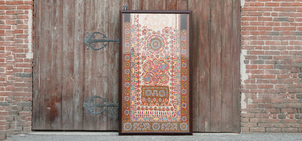 Rabari Barmer Antique Frame Tapestry