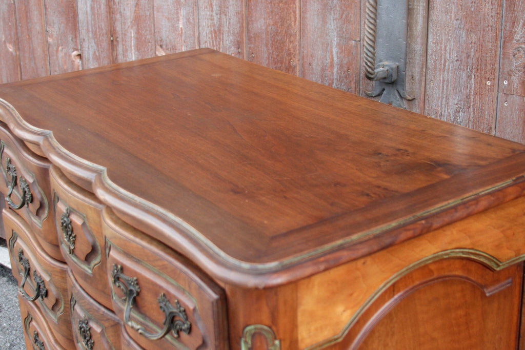 French Louis XV Style Walnut Dresser