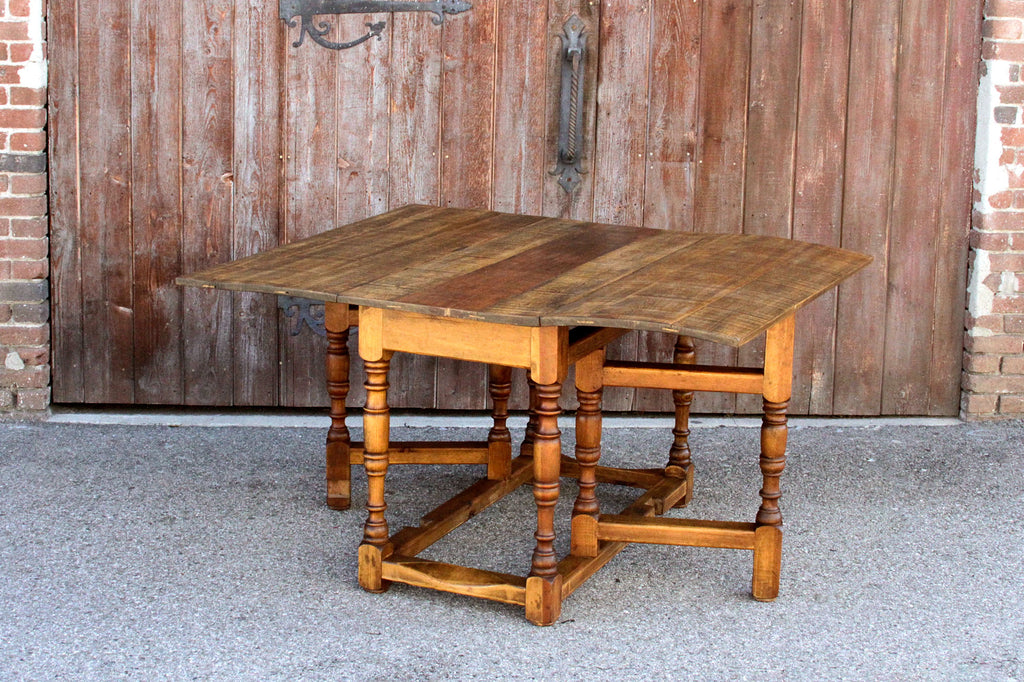 Spanish Harvest Folding Gate-Leg Table