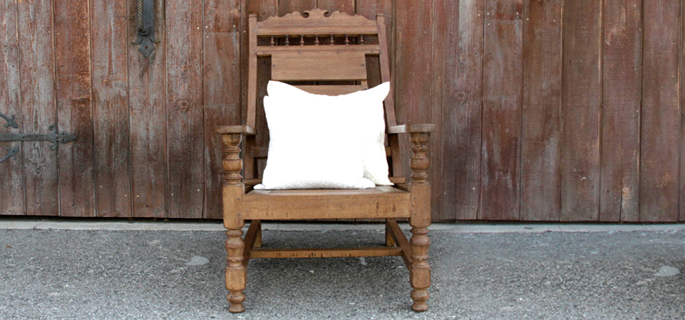 Early 20th Century Teak Plantation Chair