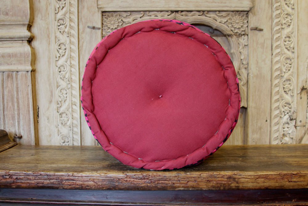 Blooming Mathuravati Pouf