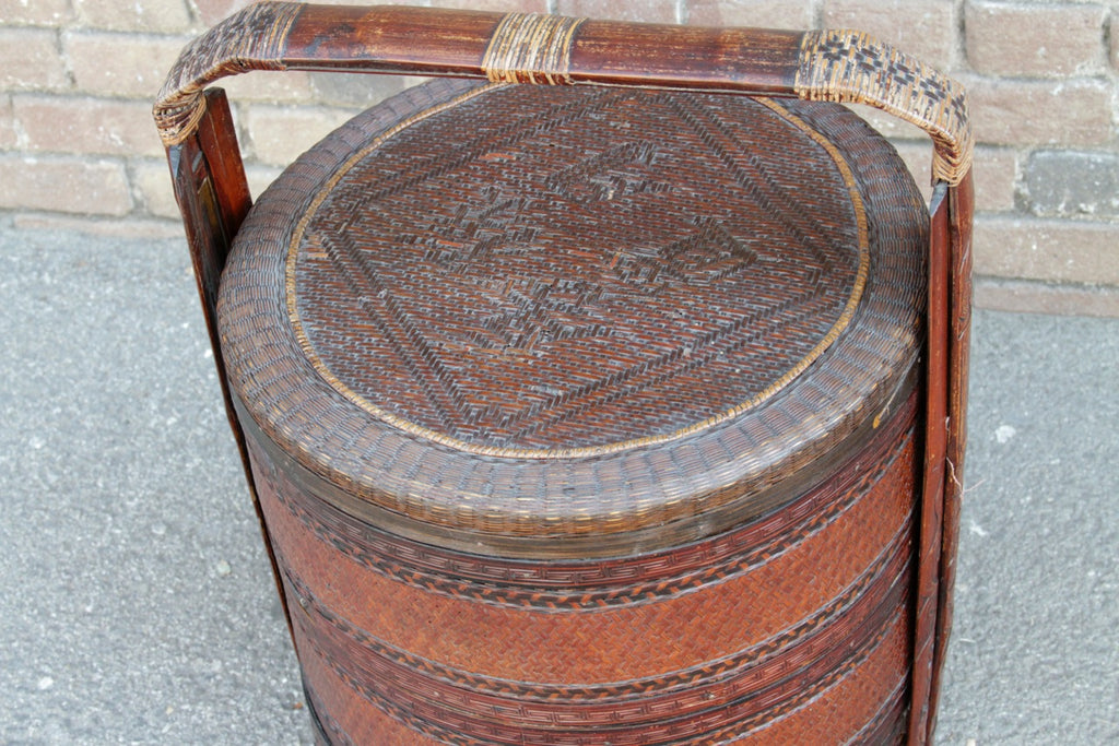 Antique Chinese Wedding Basket