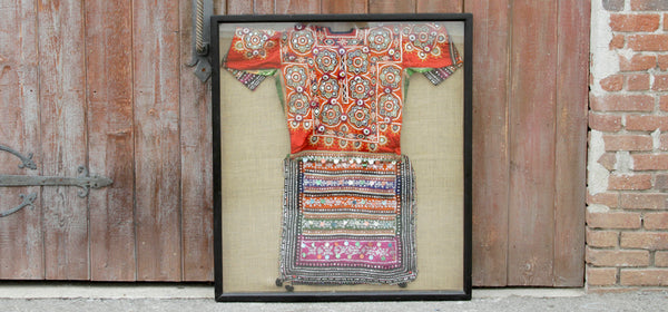 Antique Rabari Framed Dress