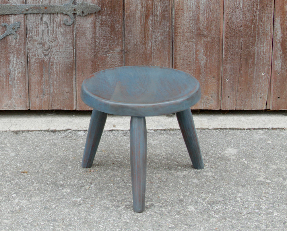 Petite Blue Side Table