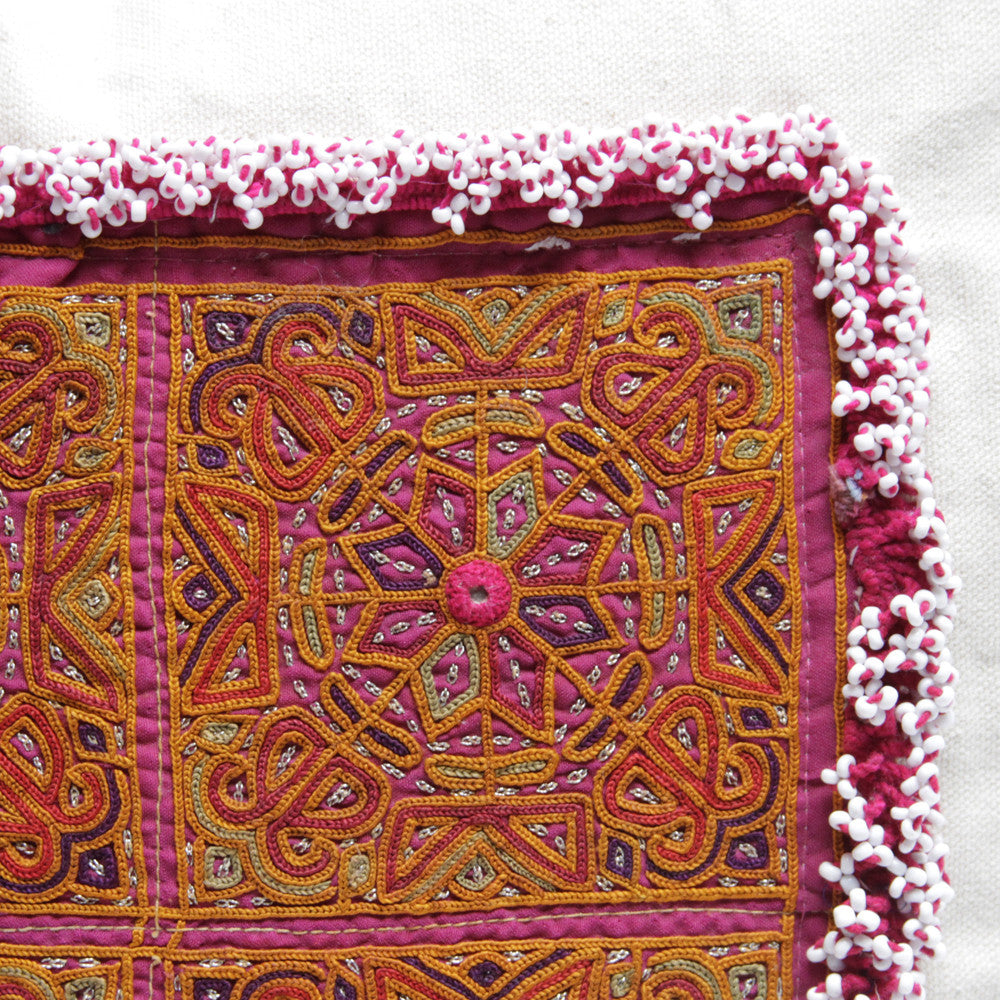 Mandala Chakla Pillow