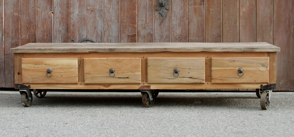 Rustic Reclaimed Industrial Coffee Table De Cor Globally Inspired