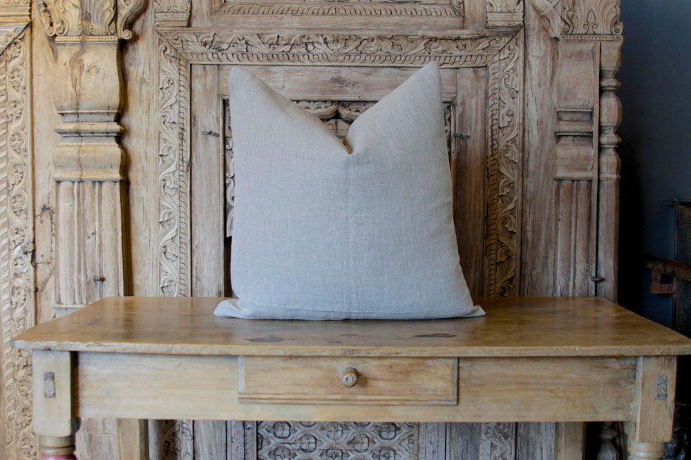 Firdos Suzani Square Pillow