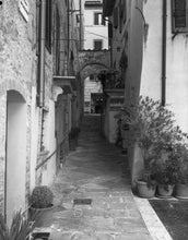 "Load image into Gallery viewer, Exploring a Back Alley in Montepulciano - 11""x14"" Hahnemühle Photo Rag Print"