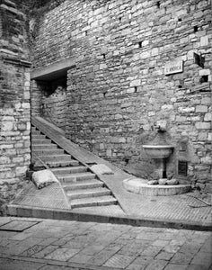 "Fountain and Stairs - 11""x14"" Hahnemühle Photo Rag Print"