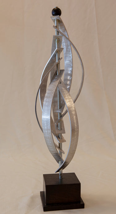Sculpture - Metal-Bent Curves by Richard Gorden