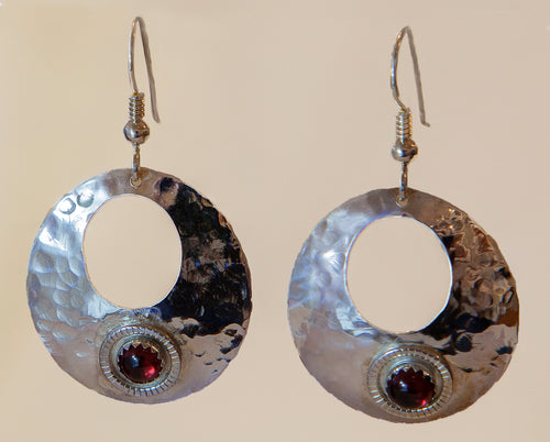 Garnet Gemstone Earrings