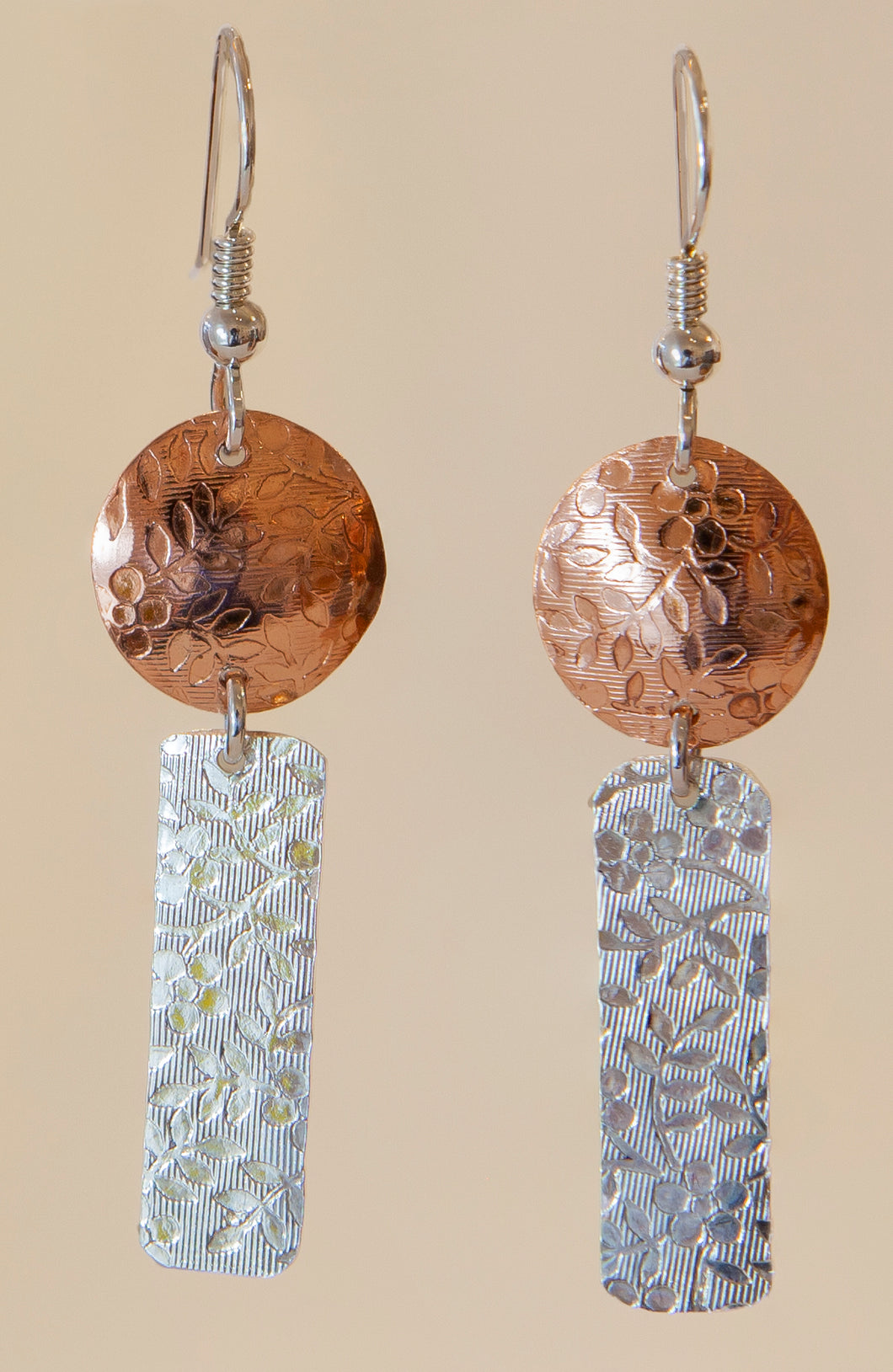 Mixed Metal Earrings