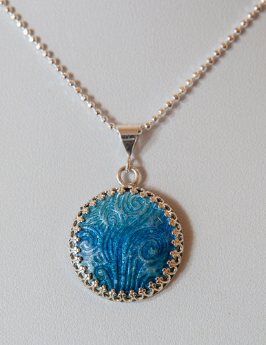 Waves of Blue Pendant