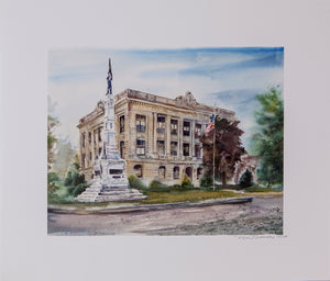 Carroll County Courthouse P-2 print