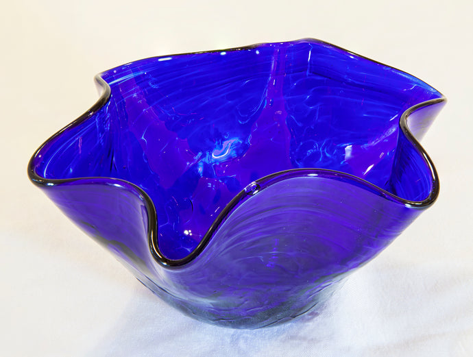 Glass Bowl by Sharon Owens