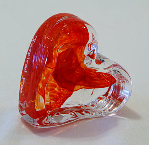 Glass Heart by Sharon Owens