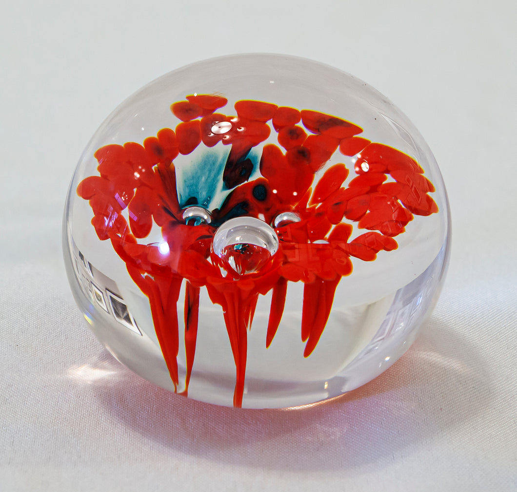 Glass Decorative Paper Weight by Sharon Owens