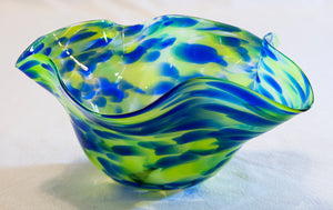 Glass Vase by Sharon Owens