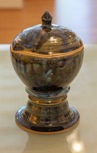 Lidded Vase by Gail Johnston