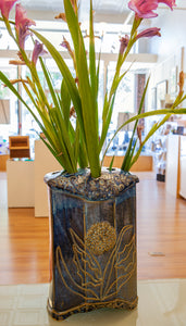 Gladiolus Vase by Gail Johnston
