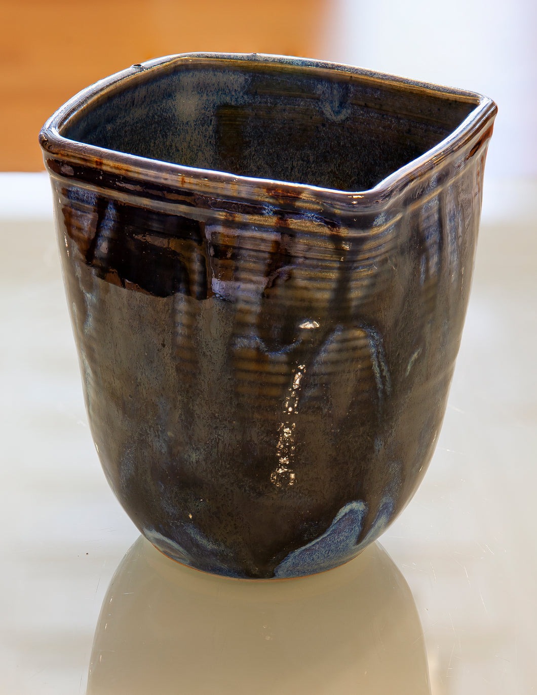 Square Mouth Vase by Gail Johnston