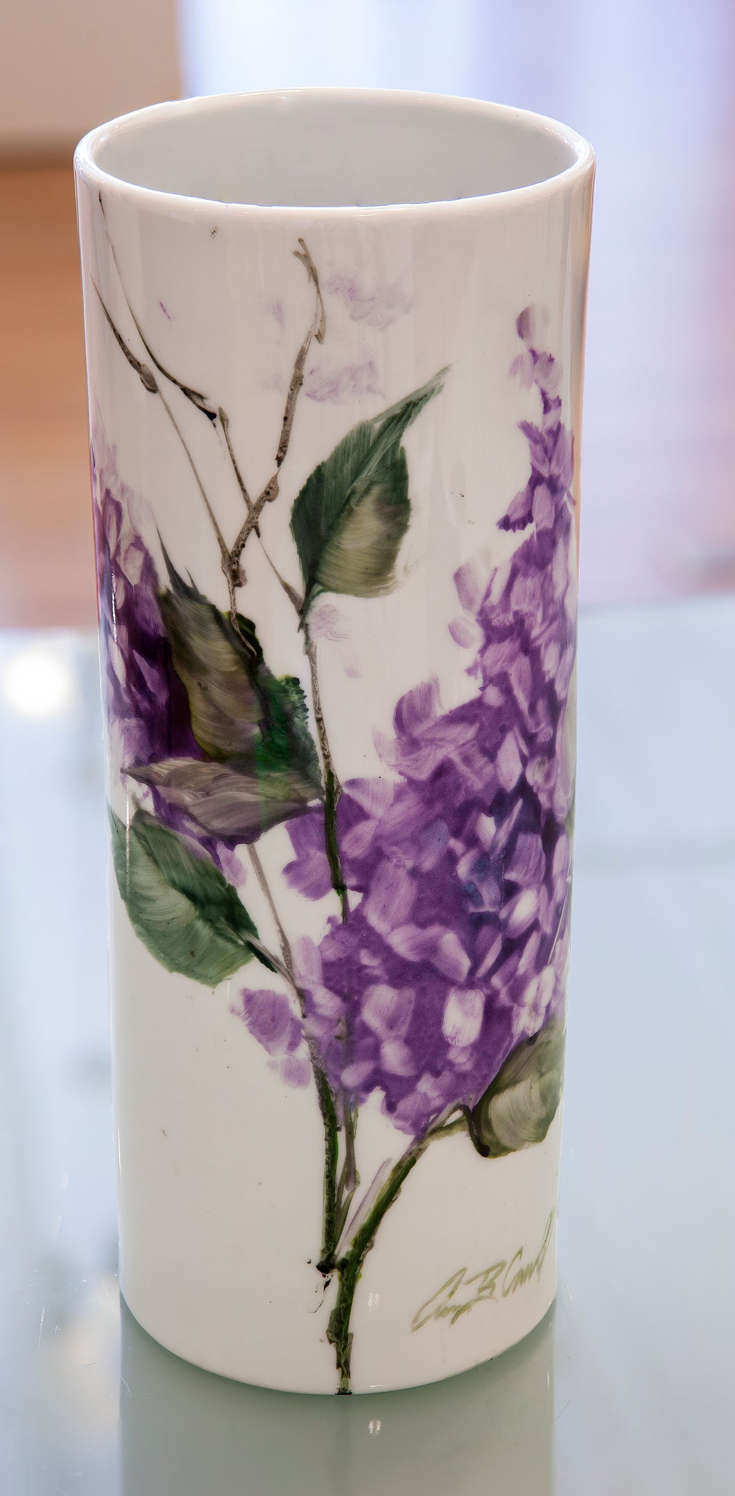 Porcelain Vase #3 by Amy Carroll