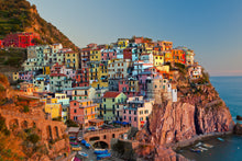 "Load image into Gallery viewer, Manarola Sunset - 16""x24"" Hahnemühle Photo Rag Print"