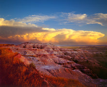 "Load image into Gallery viewer, Storm Over the Badlands - 16""x20"" on Hahnemühle Photo Rag Print"