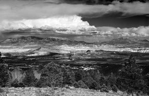 "Storm Over the Henry Mountains - 16""x24"" Hahnemühle Photo Rag Print"