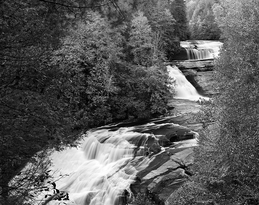 "Triple Dog Dare You, Triple Falls -11""x14"" Fuji Flex SuperGloss Print"