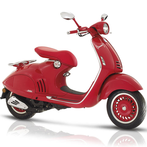 (Vespa 946) Red - Moped Scooter Pit Bike Dirt Bike Motorcycle ATV