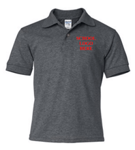 Load image into Gallery viewer, Swope Dark Heather Polo School Uniform
