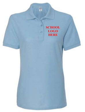 Reed Light Blue 65/35 Polo School Uniform