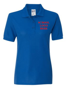 Reed Women's Royal Poly Polo