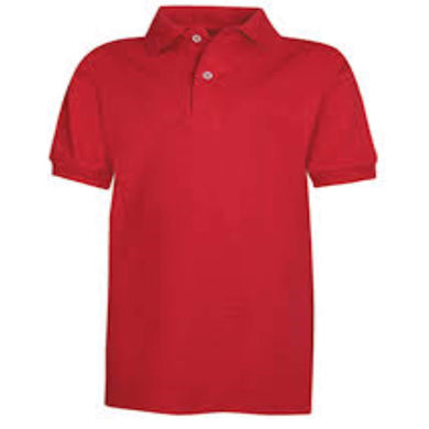 Veterans Deep Red Polo