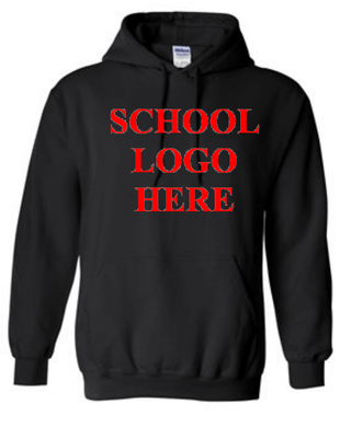 Pine Black Hood Sweatshirt School Uniform