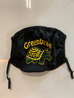 GREENBRAE LOGO COTTEN 3 PLY - YOUTH MASK