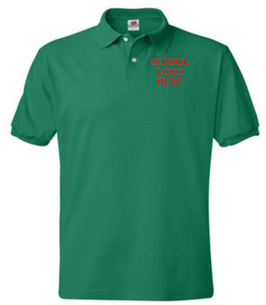Greenbrae School Uniform Kelly Green Polo