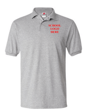 Load image into Gallery viewer, Robert Mitchell School Uniform Sport Grey Polo