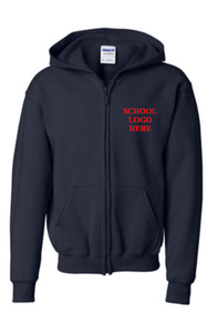 Roy Gomm Navy Blue Zip Sweatshirt Uniform