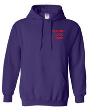 Load image into Gallery viewer, Virginia Palmer Purple Hood School Uniform