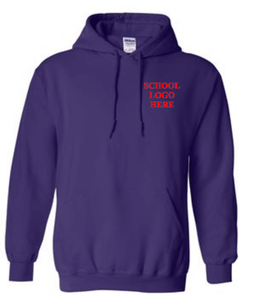 Virginia Palmer Purple Hood School Uniform